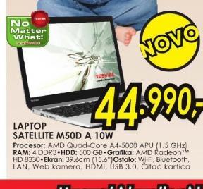 Laptop Satellite M50D-A-10W