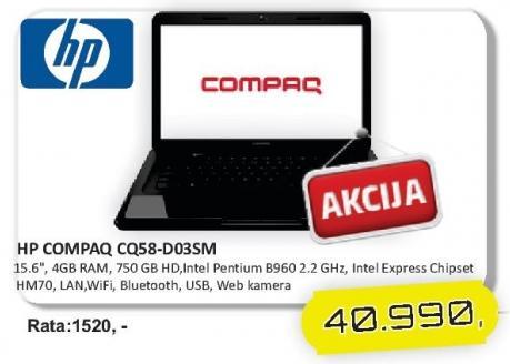 Laptop Compaq Cq58-d035m