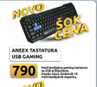 Tastatura Aneex USB gaming