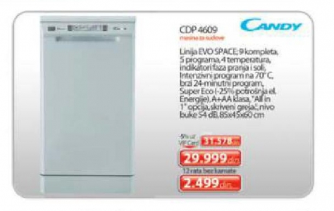 Cdp 4609 Sudomašina