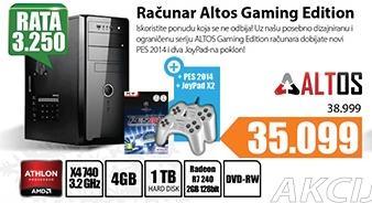 Desktop računar Altos Gaming Edition