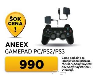 Gamepad Pc/Ps2/Ps3