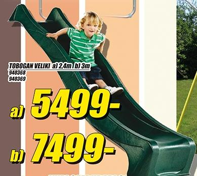 Tobogan veliki 3m