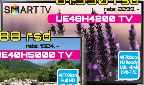 "Televizor LED 48"" UE48H4200"