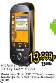 Mobilni telefon S3650