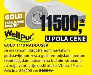 Naddušek, Gold t110
