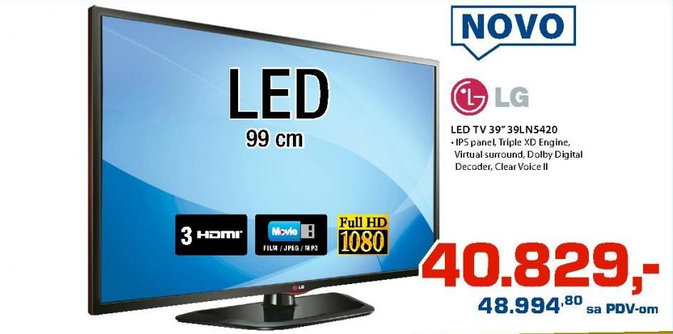 """Televizor LED 39"""" 39LN5420"""