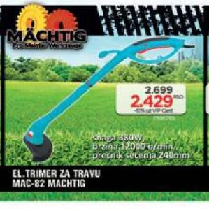 Električni trimer za travu MAC-82