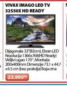 """Televizor LED 32"""" 32S50X"""