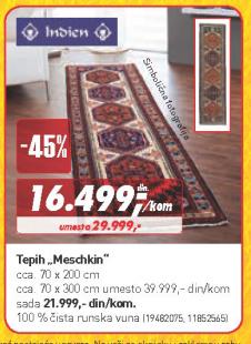Tepih Meschkin 70x200 cm