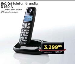 Bežični telefon D160 A