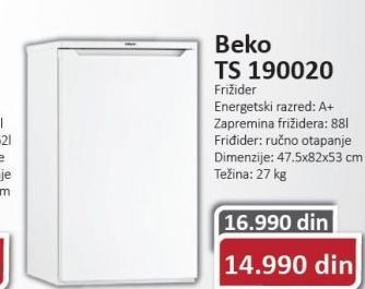 Frižider TS190020