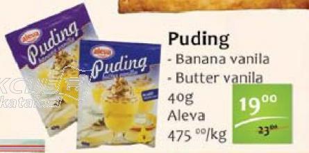 Puding butter vanila