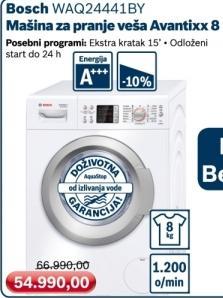 Mašina za pranje veša Avantixx 8 Waq24441by