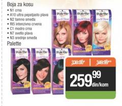 Farba za kosu