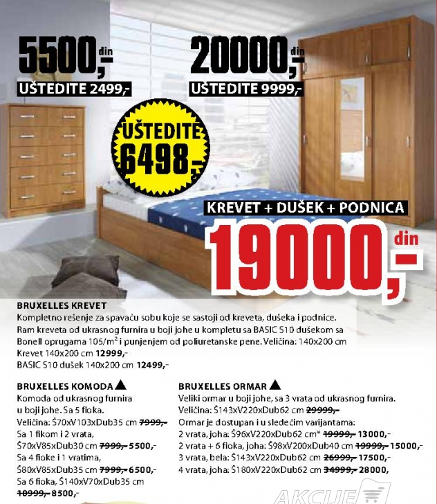 BRUXELLES ORMAR SA 4 VRATA