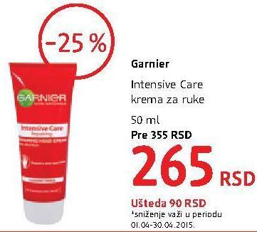 Krema za ruke Intensive care