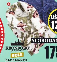 Bade mantil Borgholm