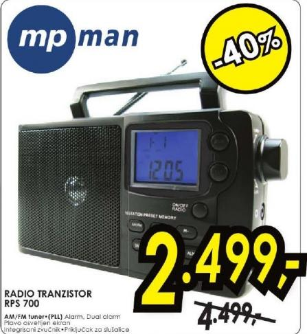 Radio Tranzistor RPS 700
