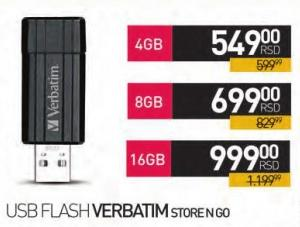 Usb Flash Memorija 16Gb StoreNGo