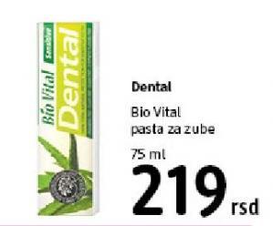 Pasta za zube Bio Vital