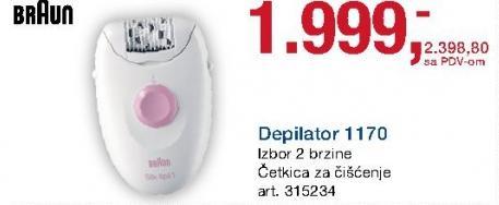 Depilator 1170