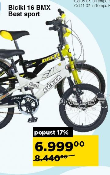 Bicikl 16 BMX Best sport