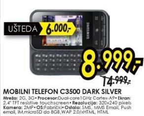 Mobilni telefon C3500