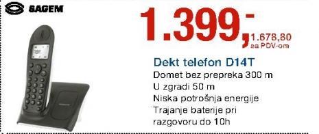 Telefon Dekt D14T