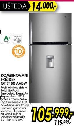 Kombinovani frižider gt 9180 Avbw