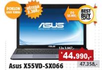 """Laptop X55VD-SX066 15.6"""","""