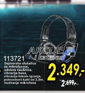 Slušalice 113721