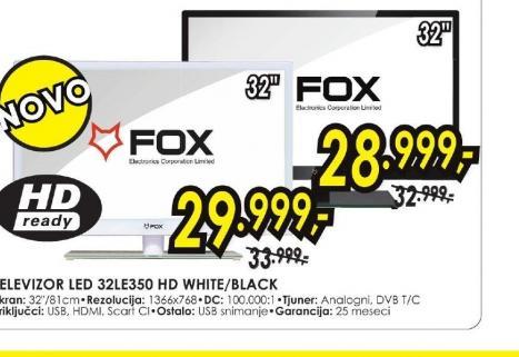 Televizor LED 32LE350 WHITE