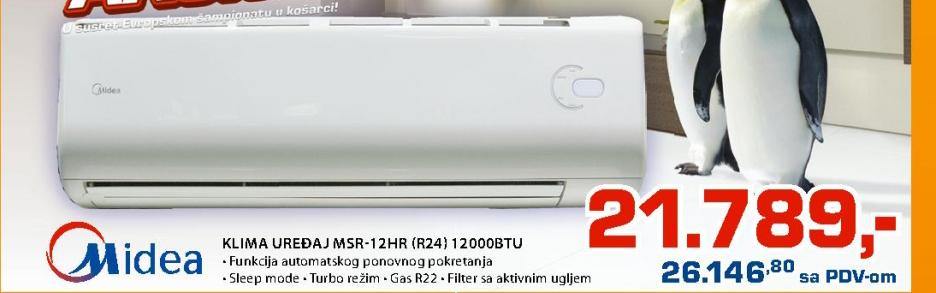 Klima Msr 12Hr R24