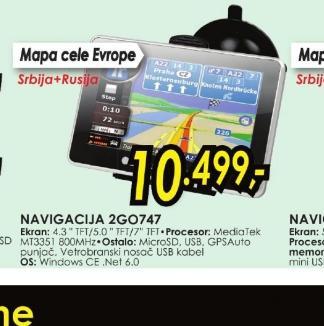 Navigator 2GO747