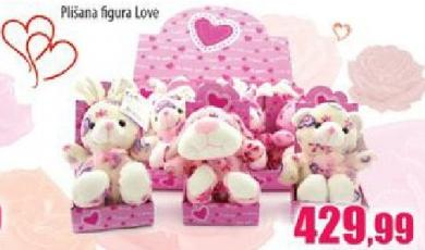 Plisana igračka Plisana figura Love