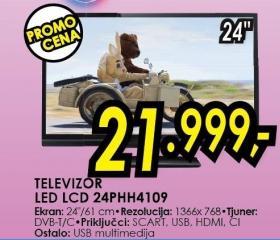 "Televizor LED 24"" 24phh4109"