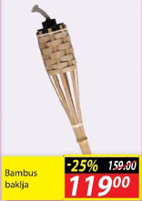 Bambus baklja
