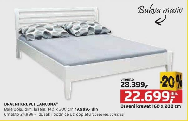 Krevet Ancona 140x200cm