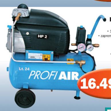 Kompresor 250/8/24, Profi Air