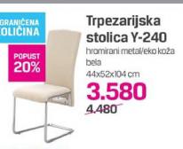 Trpezarijska stolica Y-240