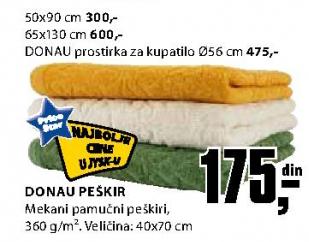 Peškir Donau 50x90cm