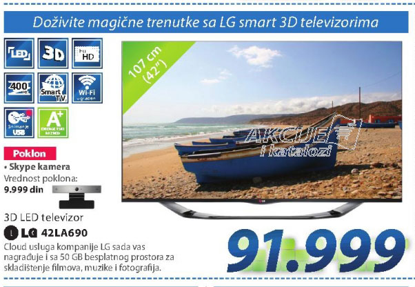 LED Televizor  42LA690