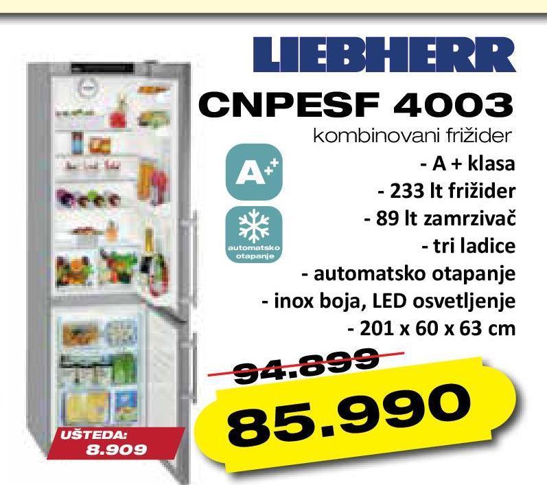 Frižider CNPESF 4003