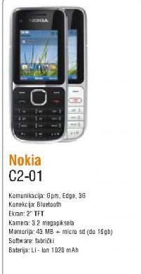 Mobilni Telefon C2-01