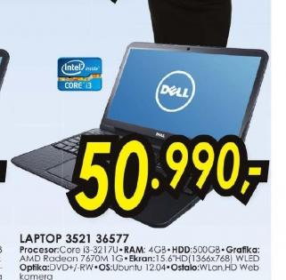 Laptop Inspiron 3521 36577