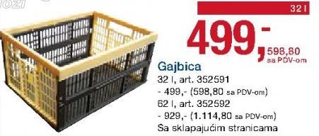 Gajbica 32l