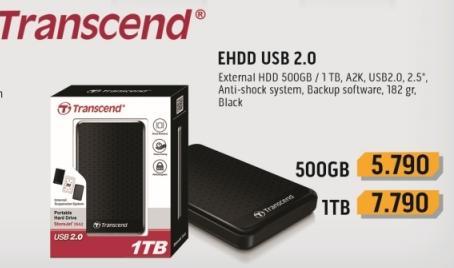 Eksterni hard disk EHDD USB2.0 500GB