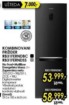 Kombinovani frižider Rb31ferndbc