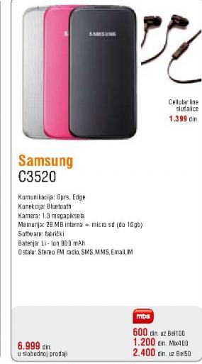 Telefon mobilni C3520